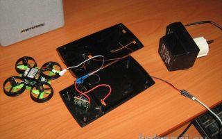 Монтаж светодиода на зарядном устройстве