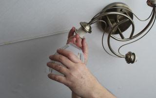Как самостоятельно отремонтировать люстру?