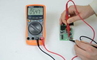 Технология проверки работоспособности транзистора