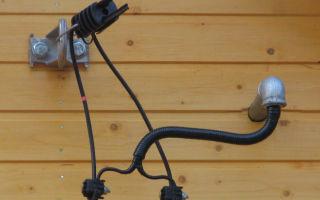 Подвод силового кабеля на баню с двух точек