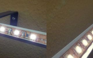 Как сделать подсветку штор светодиодной лентой?