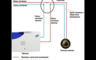 Правильное подключение дверного звонка в квартире