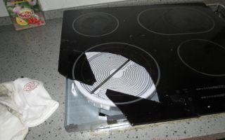 Замена стекла на варочной поверхности