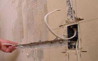 Как заменить электропроводку в хрущевке – пошаговая инструкция
