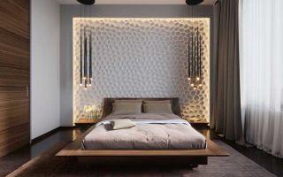 Освещение в спальне – тенденции 2017 года
