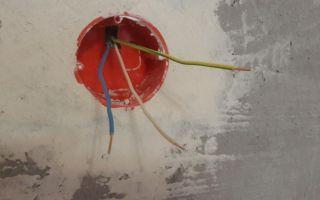 Инструкция в картинках по установке подрозетника в стену