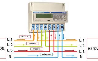 Что делать, если на двух фазах из трех напряжение 400 в и как при этом будет работать счетчик?
