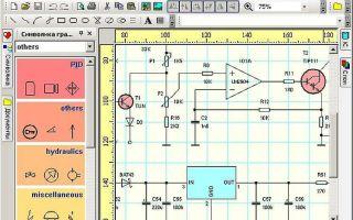 Обзор лучших программ для составления электрических схем
