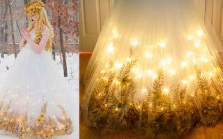 Как сделать подсветку платья?
