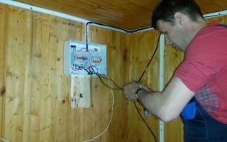 Вопросы по монтажу электропроводки на даче