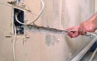 Связанны ли посторонние звуки в стенах с проводкой?
