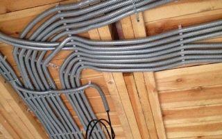 Можно ли применять провод пвс в деревянном доме?