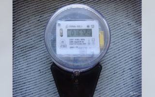 Не меняютя показания на электросчетчике пума-103.1 м