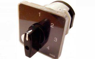 Предназначен ли кулачковый переключатель для ручного переключения нагрузки на лучшую фазу?