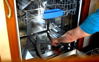 Почему посудомоечная машина neff пищит при включении?