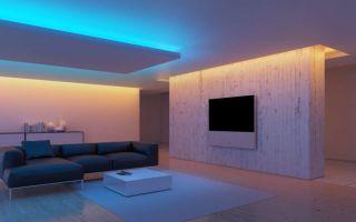Как сделать светодиодное освещение в доме и квартире?