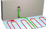 Можно ли прокладывать провода теплого пола вместе с датчиком температуры?
