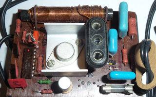 Как оживить советский сенсорный диммер?