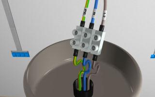 Как определить провода при подключении люстры?