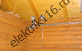 Как проложить проводку в моечном отделении бани?