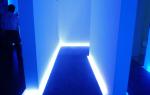 6 современных вариантов подсветки пола