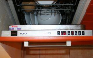 Зависает программа мойки на посудомоечной машине