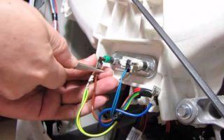 Причина срабатывания узо и поломки тэна при включении стиральной машины после залива