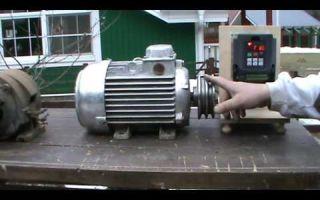Проблема с запуском двигателя токарного станка