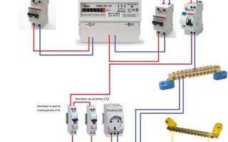 На сколько ампер поставить вводный автомат в частном доме от сип кабеля?