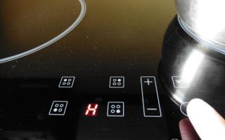 Ошибка f 07 варочной панели hotpoint-ariston