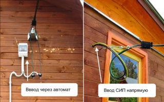 Можно ли провод сип заводить в дом к счетчику?