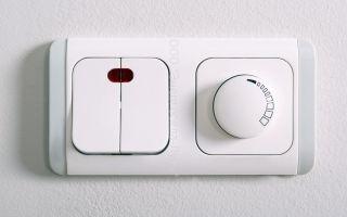 Какие бывают выключатели света?