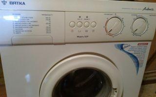 Не срабатывает слив у стиральной машины вятка катюша 522