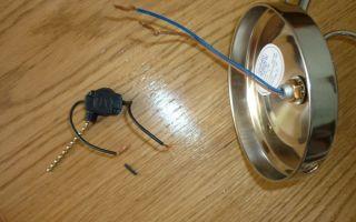 Откуда провести провода для подключения светильника бра?