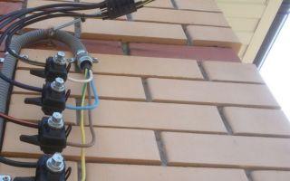 Выбор кабеля от столба к дому, 380 вольт