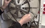 Странный звук при работе стиральной машины на малых оборотах