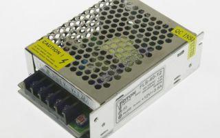 Как управлять трансформатором 220-12в от светодиодной ленты?