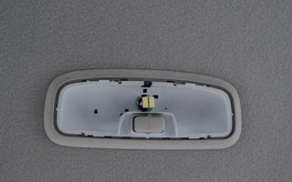 Как правильно снять плафон освещения салона авто?