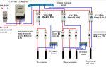 4 грамотных схемы подключения однофазного узо