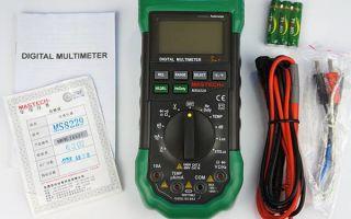Выбираем качественный мультиметр для дома и работы