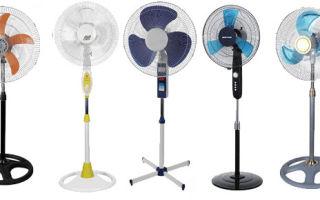 Рекомендации по выбору бытового вентилятора