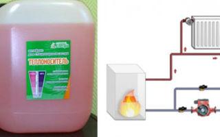 Замена воды на антифриз в системе отопления