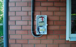 Кто должен оплачивать замену кабеля от столба к щитку?