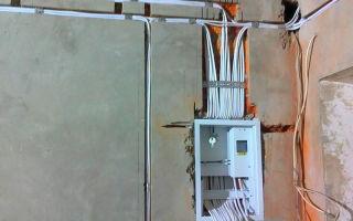 Сколько стоит поменять проводку в малогабаритной однокомнатной квартире