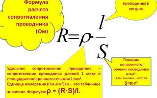 Как рассчитать сопротивление провода – инструкция с таблицами и формулами