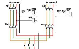 Какой контактор выбрать для того чтобы сделать авр от однофазного генератора?