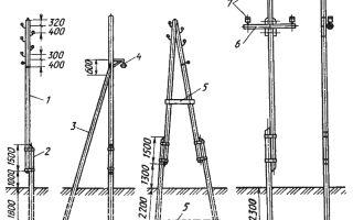 Можно ли развернуть подпорку к деревянному электрическому столбу?