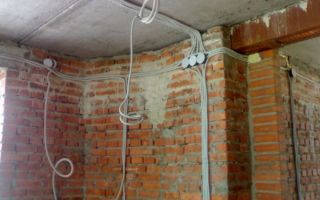 Замена электропроводки на даче перед ремонтом