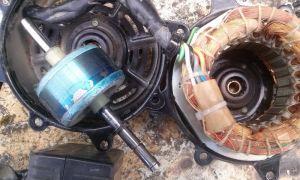 Почему трехфазный электродвигатель гудит, но не крутится?