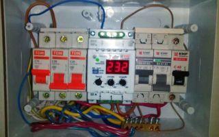 Восстановление электропитания после броска напряжения
